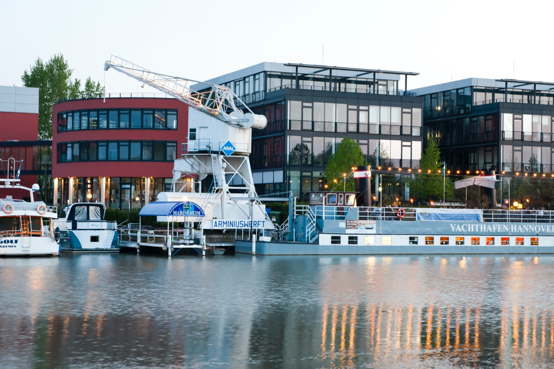Am Yachthafen Hannover